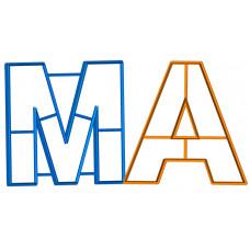"""Вырубка """"Буквы М и А"""""""