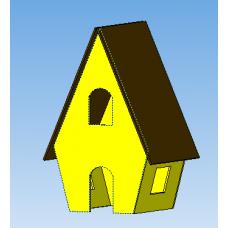 """Набор вырубок """"Пряничный домик 3D"""" №3"""