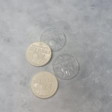Молд пластиковый Школьная медаль (2 штуки)