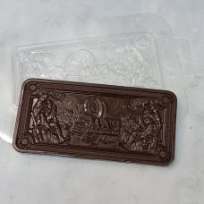 Молд пластиковый Плитка шоколада - 9 МАЯ.