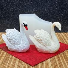 """Силиконовая форма №960 """"Белый лебедь"""""""
