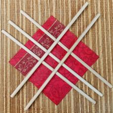 Палочки деревянные 8х400 мм (5 штук)