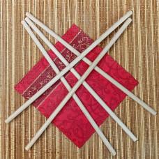 Палочки деревянные 9х400 мм (5 штук)
