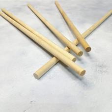 Палочки деревянные 12х300 мм (5 штук)