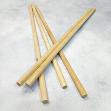 Палочки деревянные 10х400 мм (5 штук)