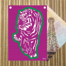 Трафарет и форма №714 - Тигр