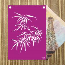 Трафарет №717-Бамбук
