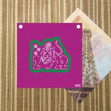 Трафарет и форма №683 - 2022 тигр