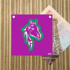 Трафарет и форма №686 - Голова лошади